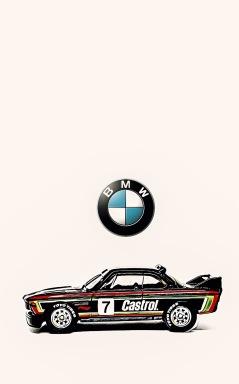 Hot Wheels BMW CSL 3.0 (Art Filter)