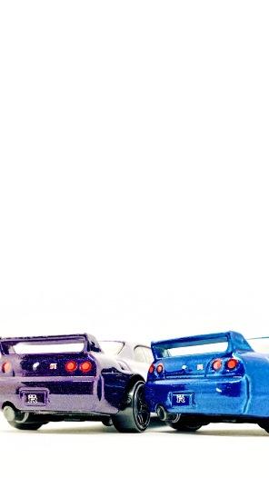 Hot Wheels Nissan Skyline GTR R-33