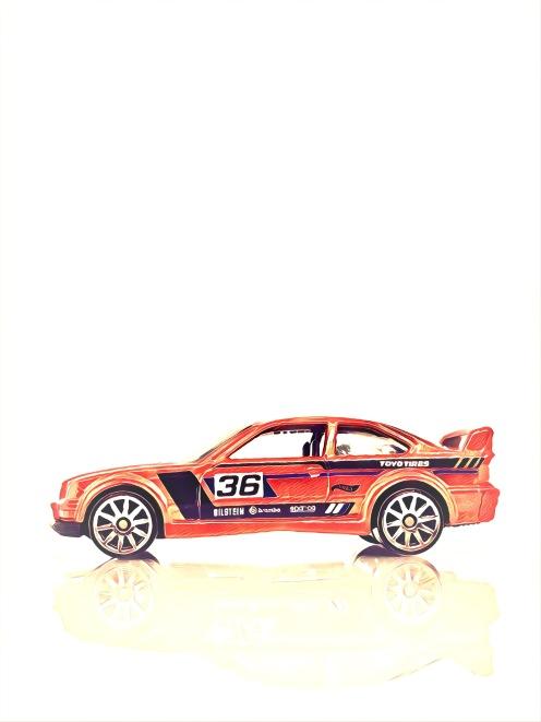 Hot Wheels BMW M3 (Art Filter)