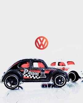Hot Wheels Volkswagen Beetle (Art Filter)