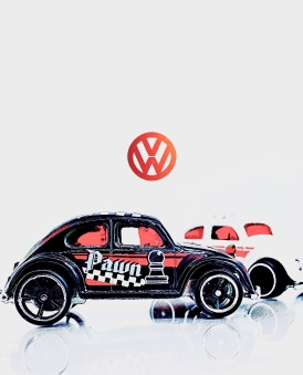 Hot Wheels Volkswagen Beetle (Art Filter)