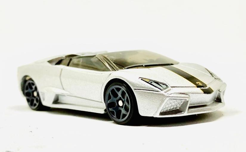 Hot Wheels Lamborghini Reventon RoadsterSilvery