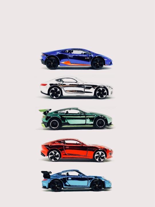 Majorette Chrome Cars Series