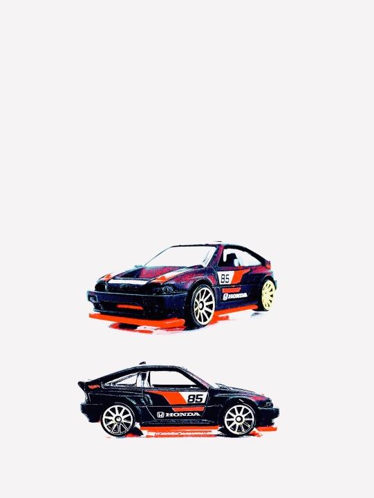 Hot Wheels Honda CRX (Art Filter)