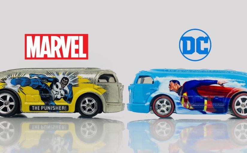Hot Wheels Indonesia Hunting Toys Kingdom Bandung: Haulin' Gas SuperheroShowdown