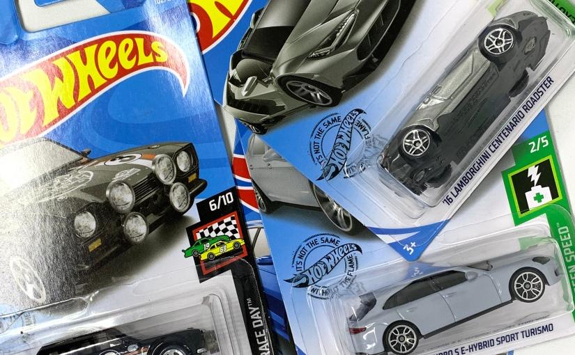 Hot Wheels Gantungan 2019: Escort, Avant, Centenario danPanamera!