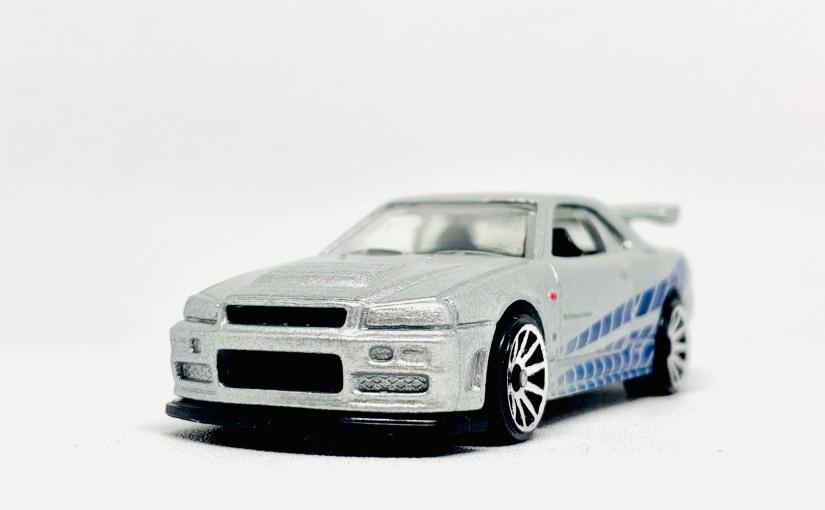 Hot Wheels Nissan Skyline GTR-R34 FastFurious