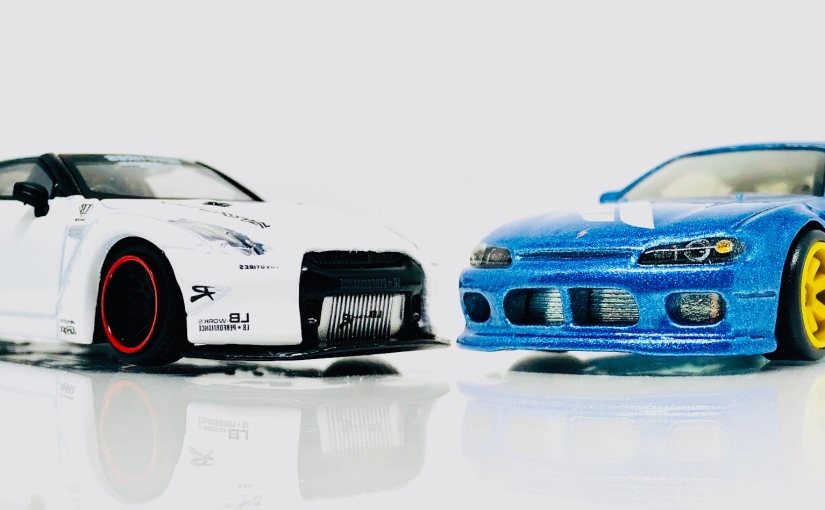 Showdown: Mini GT Skyline or Hot Wheels Forza Nissan Silvia?