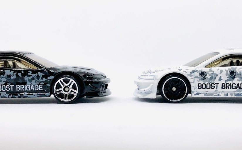 Hot Wheels Indonesia Custom Acura Integra GSR Boost BrigadeWhite/Black