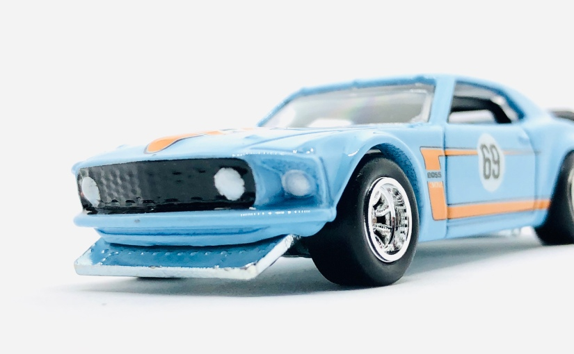 Hot Wheels Indonesia 2019 '69 Ford Mustang Boss 302 GulfSeries