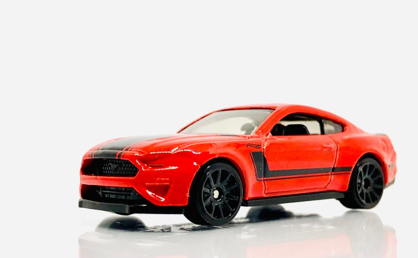 2018 Hot Wheels Indonesia Ford Mustang GT inRed